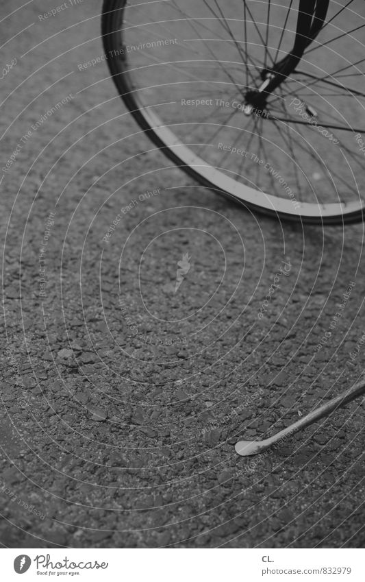 pause Erholung Straße Wege & Pfade Verkehr Fahrrad Pause Fahrradfahren Fahrradtour Verkehrsmittel Fahrradweg Fahrradständer