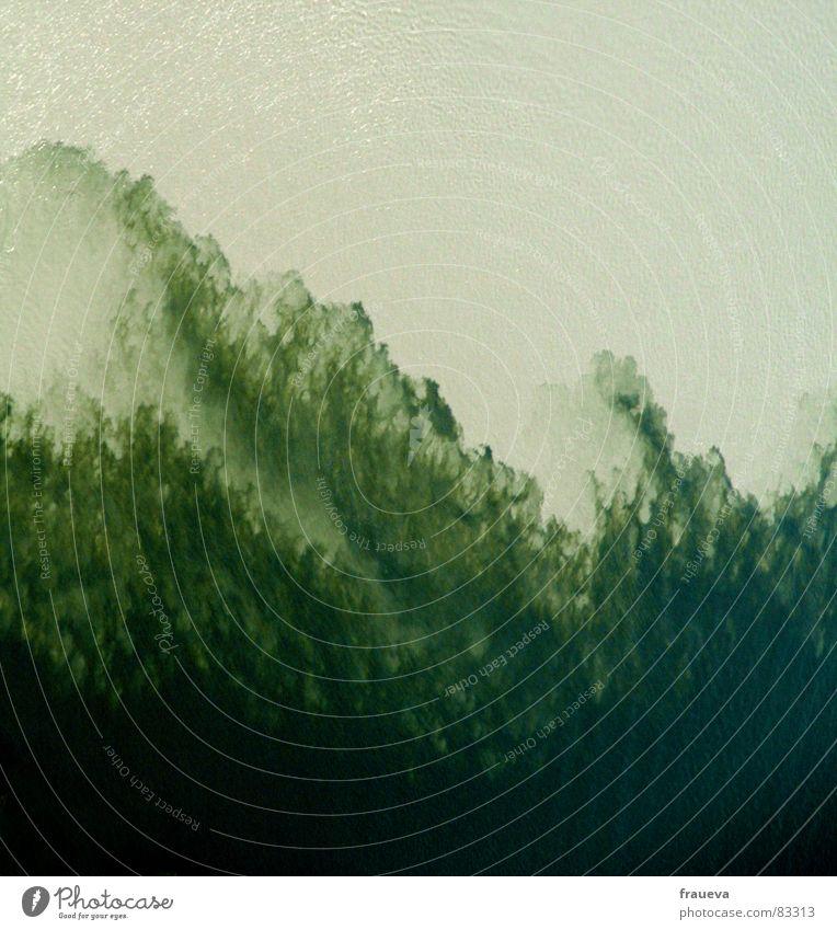 wasserspektakel inn-donau Wasser grün Hintergrundbild Fluss Klarheit Gemälde tief Mischung trüb Bildausschnitt mischen Algen Strömung Niederbayern Donau