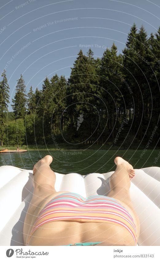 rumdümpeln Lifestyle Freude Erholung Schwimmen & Baden Freizeit & Hobby Ferien & Urlaub & Reisen Ausflug Sommer Sommerurlaub Sonne Sonnenbad Frau Erwachsene