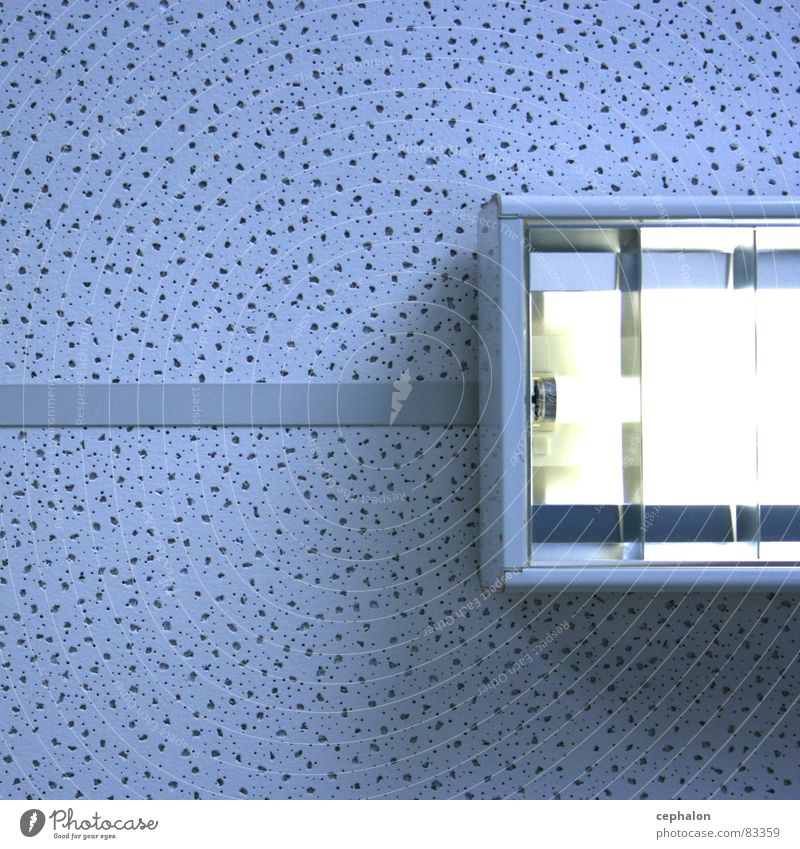 artificial sky blau Wand oben Lampe Raum Technik & Technologie Decke Neonlicht gestellt Callcenter Elektrisches Gerät Leuchtstoffröhre