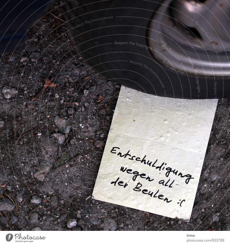 Peace | immerhin Stadt Straße Wege & Pfade Stein PKW Schilder & Markierungen Verkehr Schriftzeichen Hinweisschild Papier Freundlichkeit Asphalt Verkehrswege