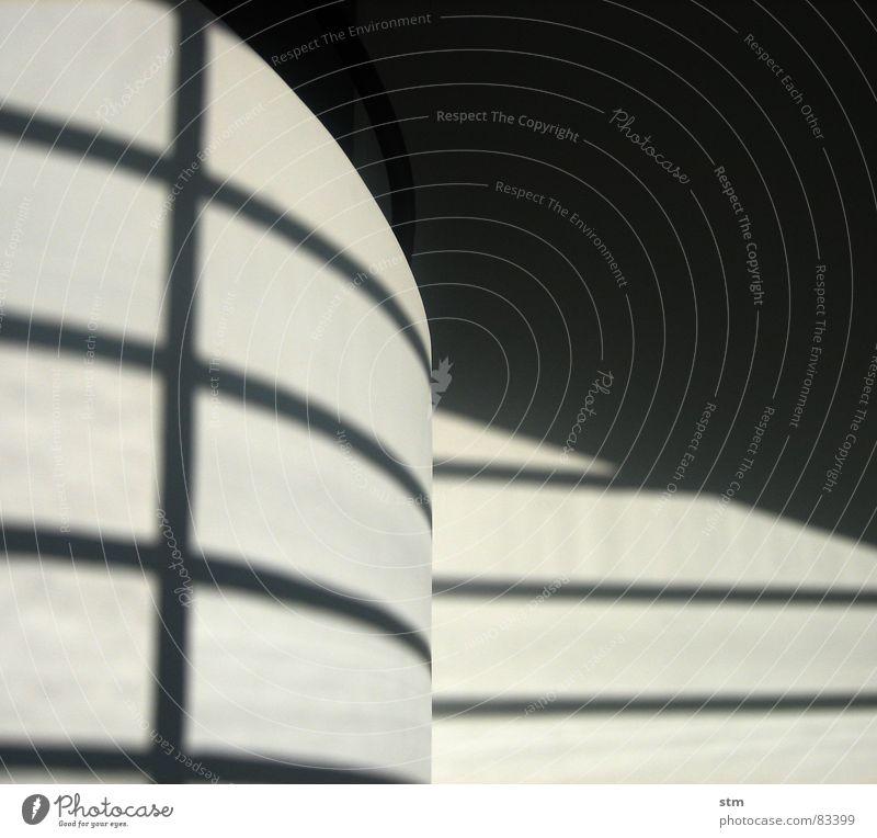 weiss 4 Klassische Moderne Geländer rund Wand Putz Wölbung modern Schatten Heizkörper Linie Treppe Architektur