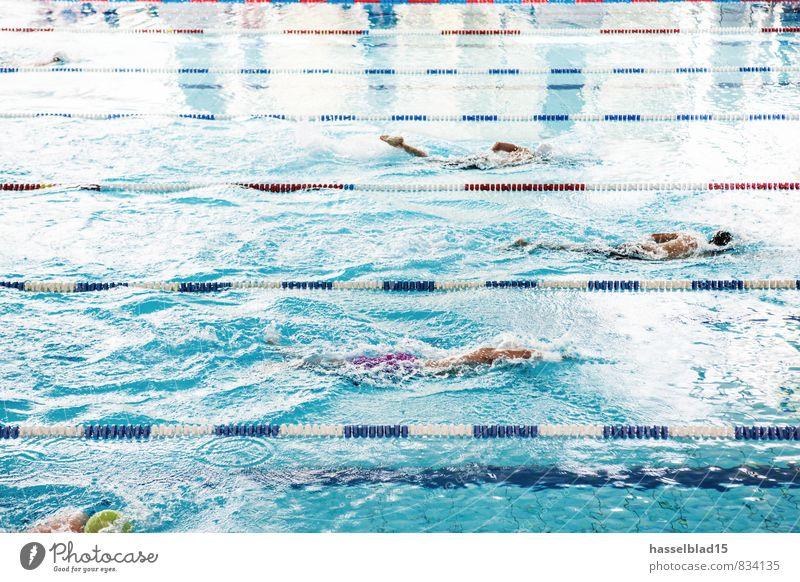 Deep.Blue II Mensch Ferien & Urlaub & Reisen Jugendliche Sommer Freude Erwachsene Sport Schwimmen & Baden Glück Gesundheit Menschengruppe Gesundheitswesen Lifestyle Wellen Kindheit Erfolg