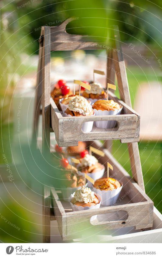 Cupcakes Kuchen Dessert Süßwaren Ernährung Picknick Fingerfood lecker süß Muffin Farbfoto Außenaufnahme Menschenleer Tag Schwache Tiefenschärfe