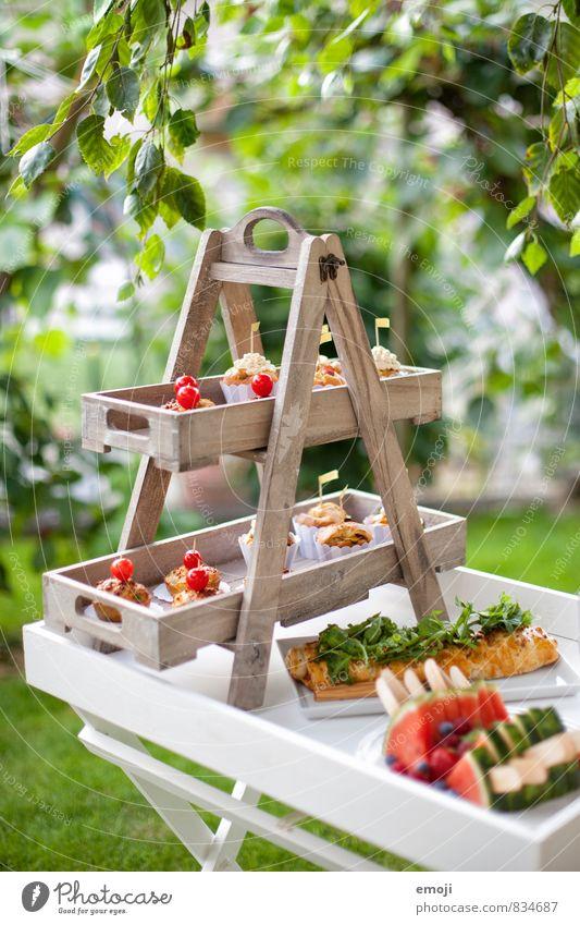 Picknick Natur Umwelt Garten Ernährung süß lecker Picknick Dessert Gartenfest Fingerfood