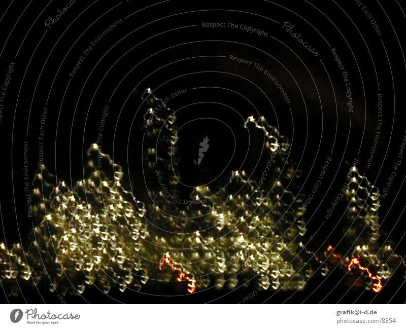 leuna 01 Leuna Nacht Licht Muster Langzeitbelichtung Haus Lichtspiel Industriefotografie