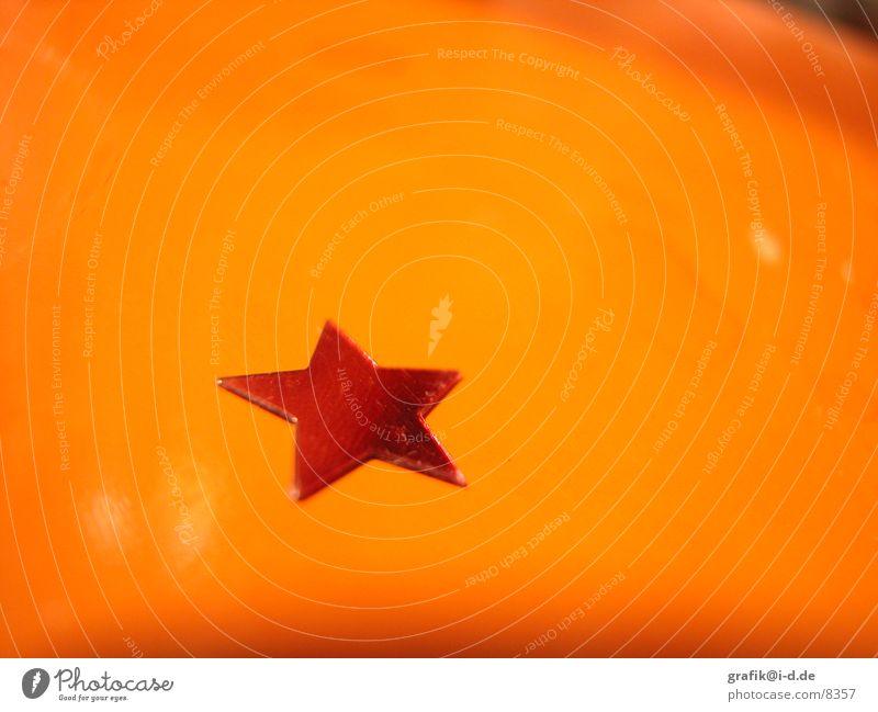 orange weihnachten Weihnachten & Advent rot Winter Makroaufnahme glänzend Tisch Stern (Symbol) Wunsch