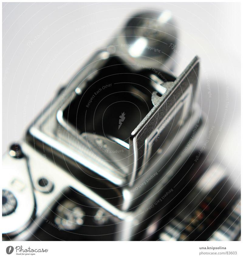 six tl Fotografie Perspektive Ecke Fotokamera Bild Tiefenschärfe Mittelformat Brennpunkt Klappe Objektiv Lichtschacht