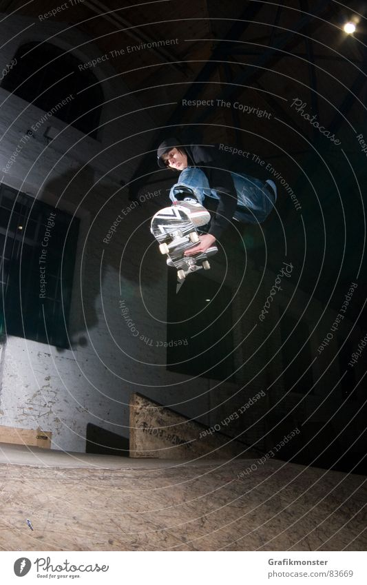 Mellow Grab 02 springen Skateboarding trendy Extremsport
