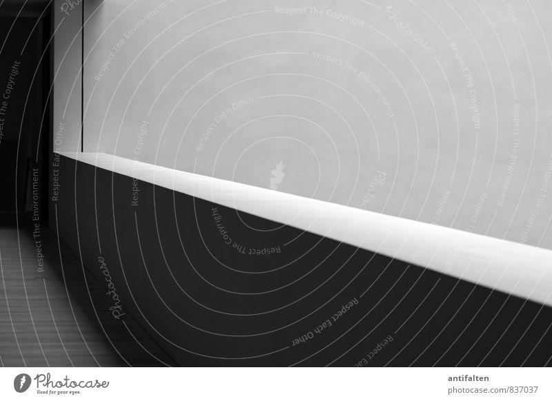 In der Tiefe des Raumes Ausstellung Museum Architektur Bauwerk Gebäude Mauer Wand Treppe Fassade Sehenswürdigkeit Stein Beton Holz ästhetisch außergewöhnlich