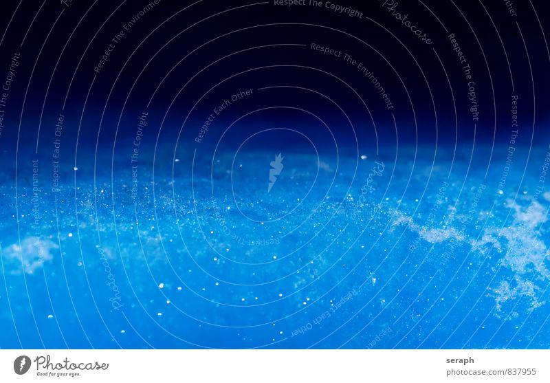 * Eis Gel abstrakt Eiskristall Kristallstrukturen Frost gefroren frieren kalt Oberfläche Konsistenz gekühlt Coolness kühlen Strukturen & Formen Wasser Arktis