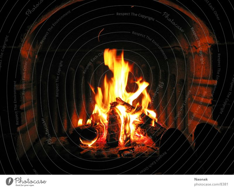 burn down the house dunkel Brand Flamme Grill Kamin Feuerstelle
