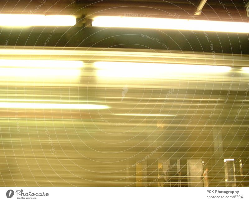 new york velocity Bewegung Geschwindigkeit U-Bahn New York City London Underground Fototechnik