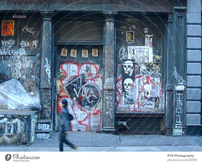 urban Stadt Graffiti Punk New York City Fototechnik Soho
