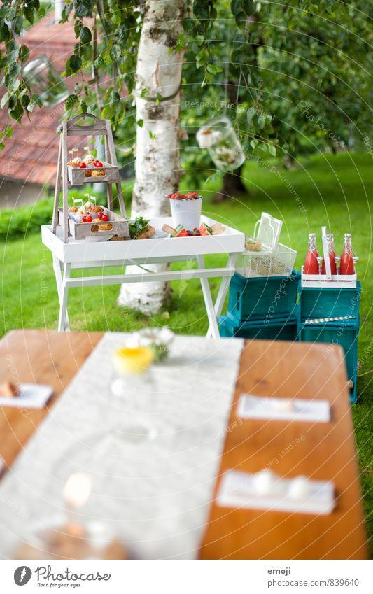 Picknick natürlich Garten Freizeit & Hobby Ernährung Festessen Fingerfood Slowfood