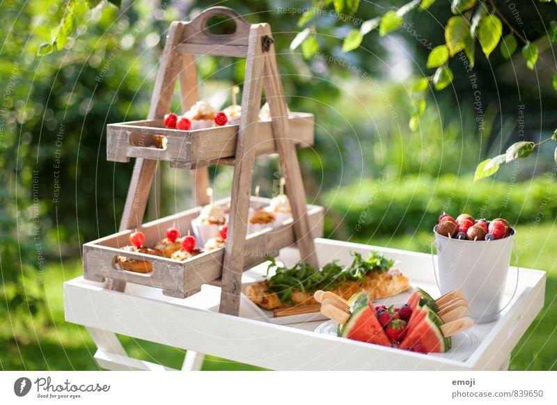 self service Frucht süß Süßwaren lecker Picknick Dessert Büffet Brunch selbstgemacht Fingerfood