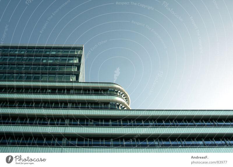 Haus und Himmel Agentur Arbeitsweg Energiewirtschaft Lacoma Gebäude Fenster Fassade Glasfassade Bürogebäude Cottbus Hauptstelle Krankenhaus Bauwerk Lausitz