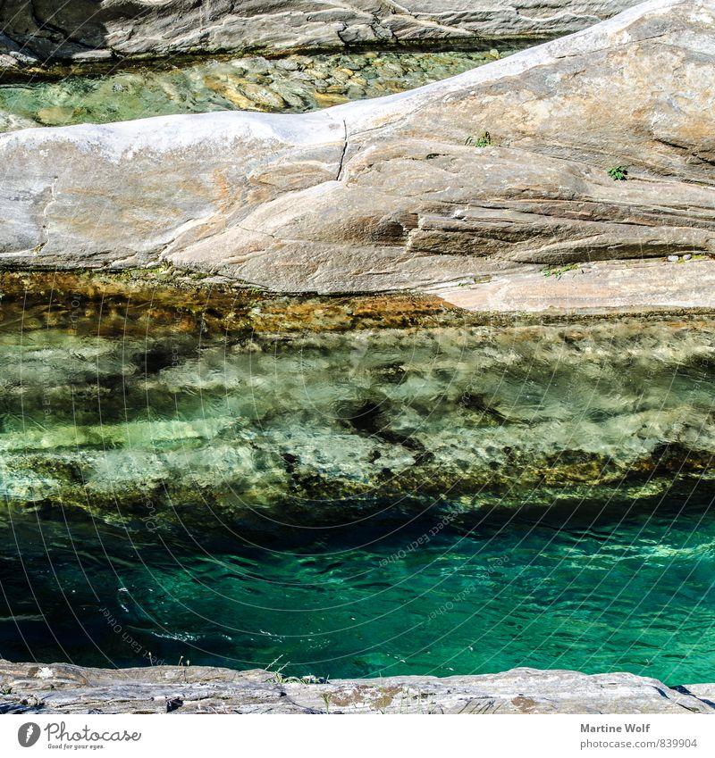clear water Natur ruhig Europa Flussufer Schweiz Kanton Tessin