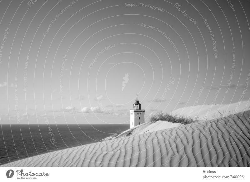 Rubjerg Knude II... Natur Ferien & Urlaub & Reisen Sommer Sonne Meer Strand Küste Architektur außergewöhnlich Sand Wellen Tourismus Insel Ausflug Urelemente