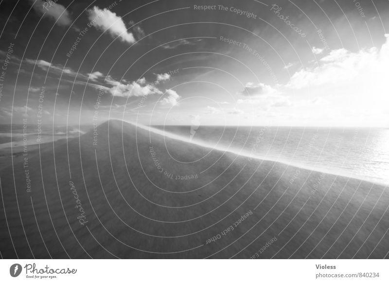 hot line .... Ferien & Urlaub & Reisen Tourismus Ausflug Abenteuer Sommer Sonne Strand Meer Wellen Umwelt Natur Urelemente Sand Wind Küste Nordsee ästhetisch