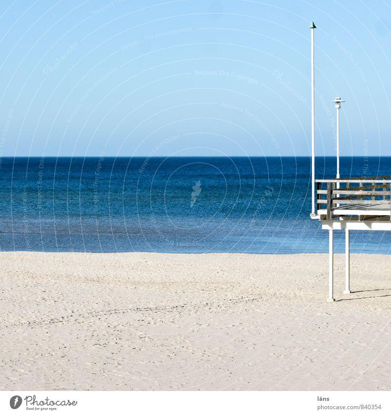 standpunkt Himmel Ferien & Urlaub & Reisen blau Wasser Sonne Meer Erholung Landschaft ruhig Strand Ferne Küste Freiheit Sand Luft Zufriedenheit