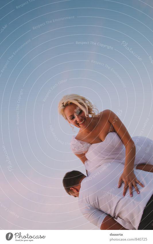Himmel schön Erholung Freude Leben Stil Glück lachen außergewöhnlich Feste & Feiern Freundschaft Freizeit & Hobby Familie & Verwandtschaft Lifestyle elegant
