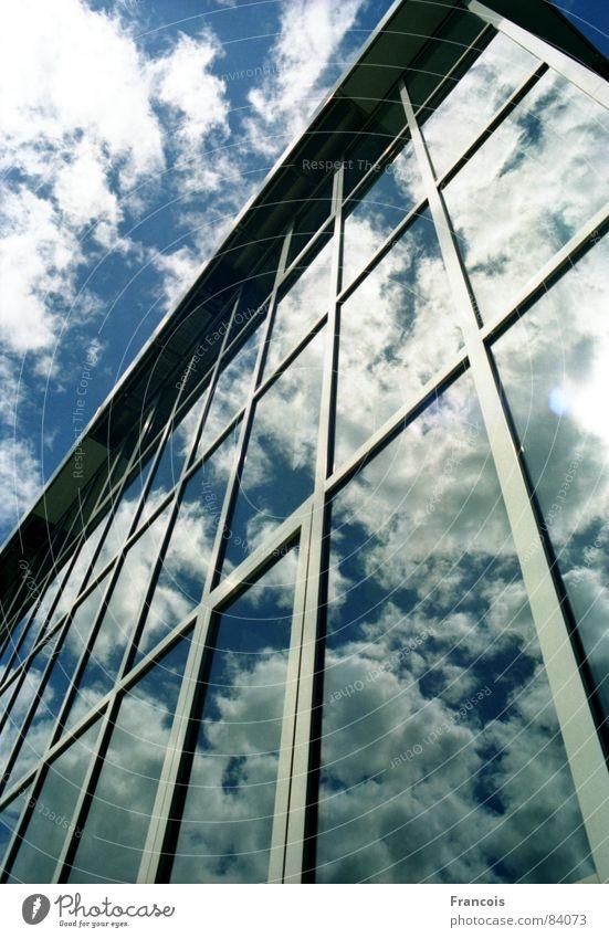 Kubus 1 Himmel Architektur Glas Museum Glasfassade Trier Moderne Architektur