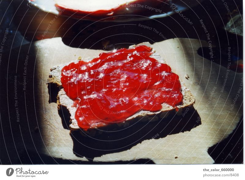mnjam, mnjam, mnjam Ernährung Brot Belegtes Brot Marmelade
