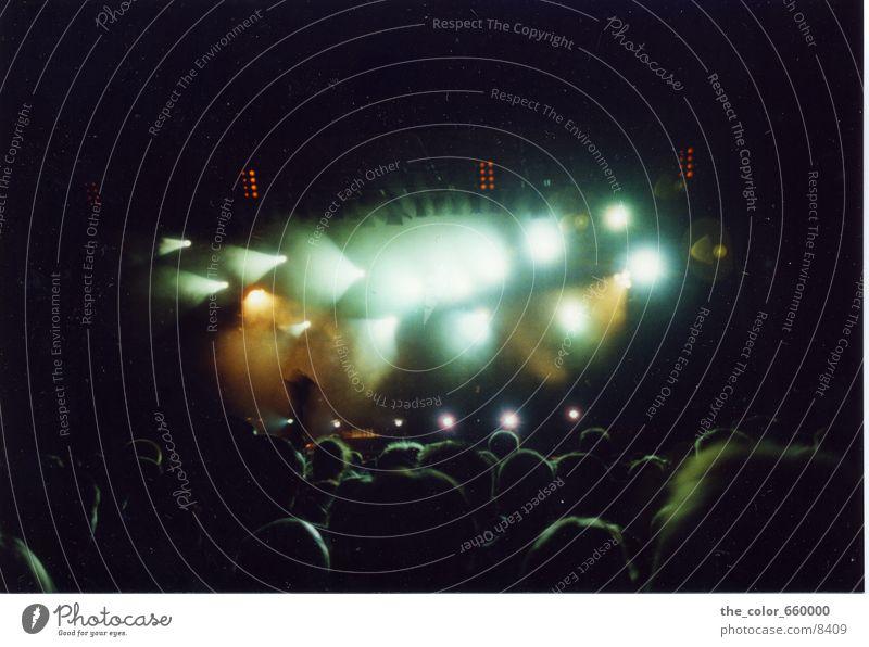 UFO Landing? Party Club Konzert Scheinwerfer UFO