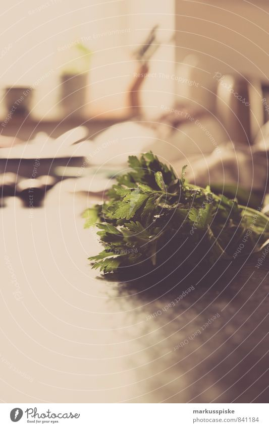 Petersilie Lebensmittel Gemüse Salat Salatbeilage Kräuter & Gewürze Büffet Brunch Festessen Bioprodukte Vegetarische Ernährung Diät Slowfood Italienische Küche