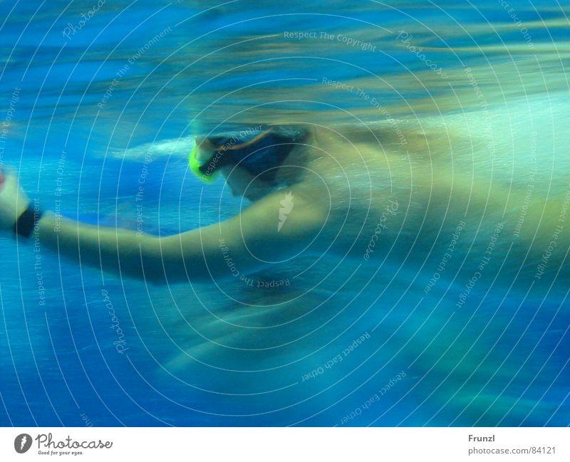 Schnellschwimmer Wasser Sport Geschwindigkeit Schwimmbad Jagd Wassersport Wasserwirbel Schwimmsportler Beschleunigung aquatisch schnellstmöglich