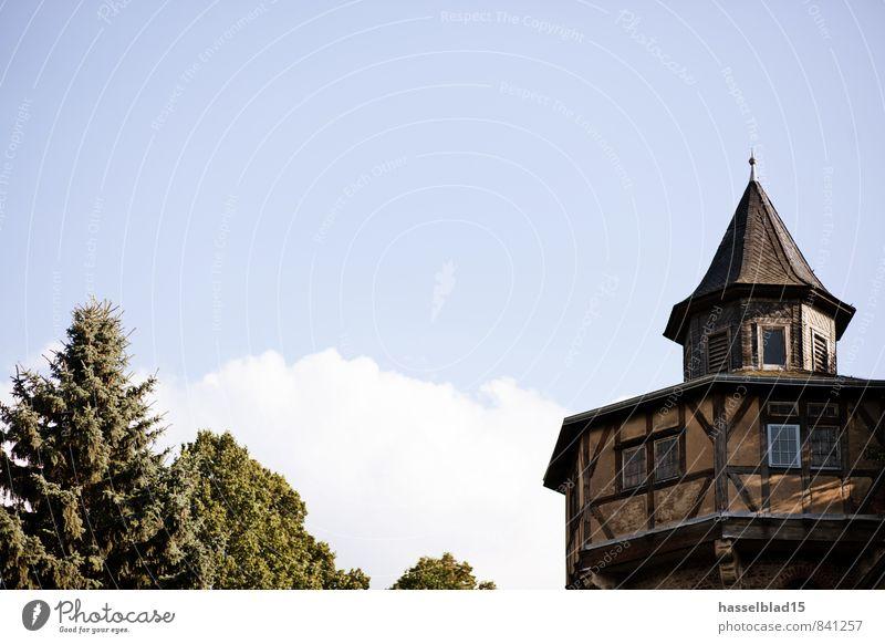 Rapunzel Ferien & Urlaub & Reisen Erholung ruhig Haus Ferne Architektur Gebäude Glück Zufriedenheit Abenteuer Dach Turm Bauwerk Burg oder Schloss