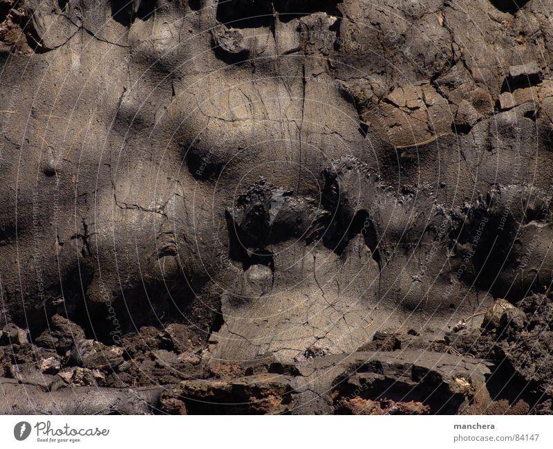 Mur lavaesque Stein Mineralien Lava Rüstung Basalt Ursuppe