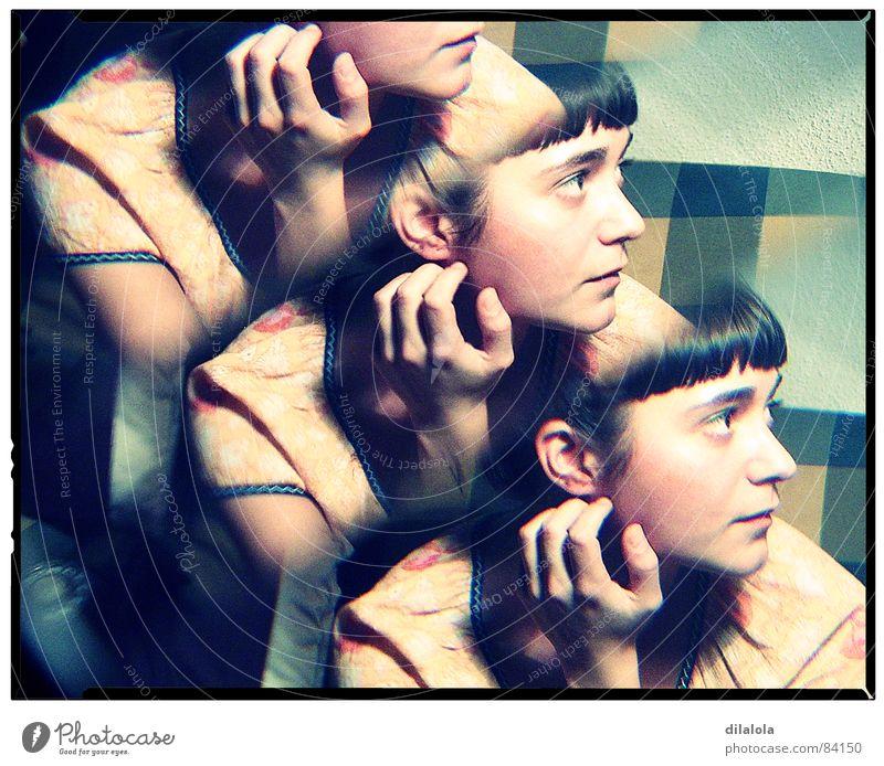ella Holga Frau Digitalfotografie concentration Umzug (Wohnungswechsel) Gefühle caleidoscope feel young abstract thinking Art und Weise Denken