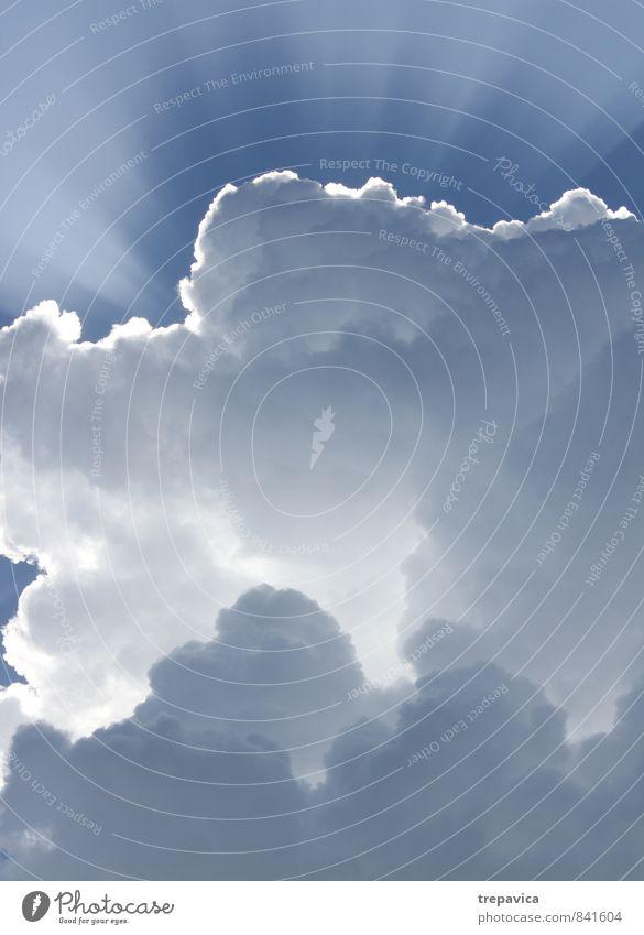 Himmel Umwelt Natur Luft Wolken Gewitterwolken Sonnenaufgang Sonnenuntergang Sonnenlicht Sommer Klima Klimawandel Wetter schlechtes Wetter Unwetter Sturm