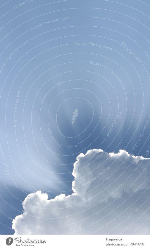 Himmel Umwelt Natur Luft Wolken Sommer Klima Wetter Schönes Wetter Lebensfreude Begeisterung Vertrauen schön ruhig Hoffnung Glaube Energie Erholung Frieden