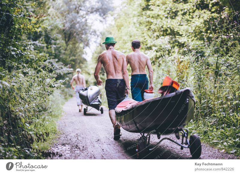 ° Mensch Natur Ferien & Urlaub & Reisen Jugendliche Mann Pflanze Sommer Baum 18-30 Jahre Wald Erwachsene Leben Wärme Wege & Pfade Sport Freiheit