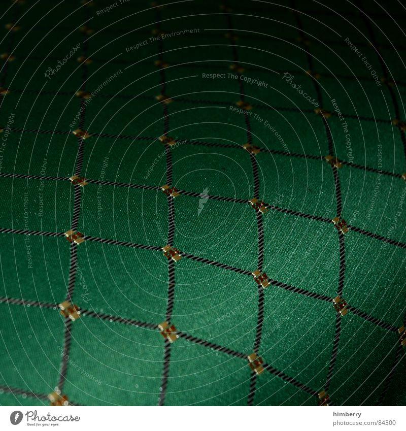 green royal Englisch Stoff nobel schick Wohnzimmer grün Möbel Makroaufnahme Nahaufnahme Dekoration & Verzierung stuhl. möbel british Burg oder Schloss Reichtum