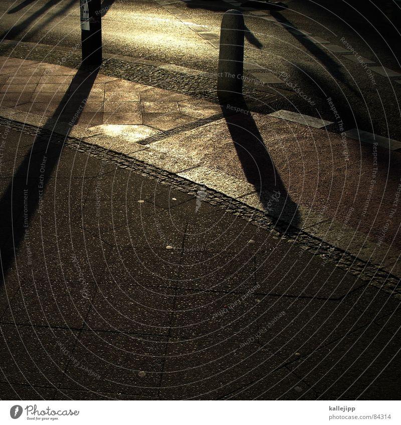 sonnenuhr Verkehrszeichen Fahrradweg Straßenverkehr Schilder & Markierungen Schatten Wege & Pfade Mischung Sonne Graffiti sign kallejipp Bodenplatten