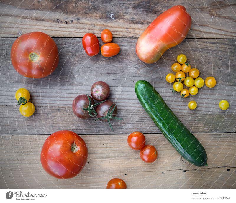 kost.bar | gartengold Lebensmittel Gemüse Salat Salatbeilage Frucht Italienische Küche Natur Sommer Herbst Dekoration & Verzierung Sammlung Zeichen Design Farbe