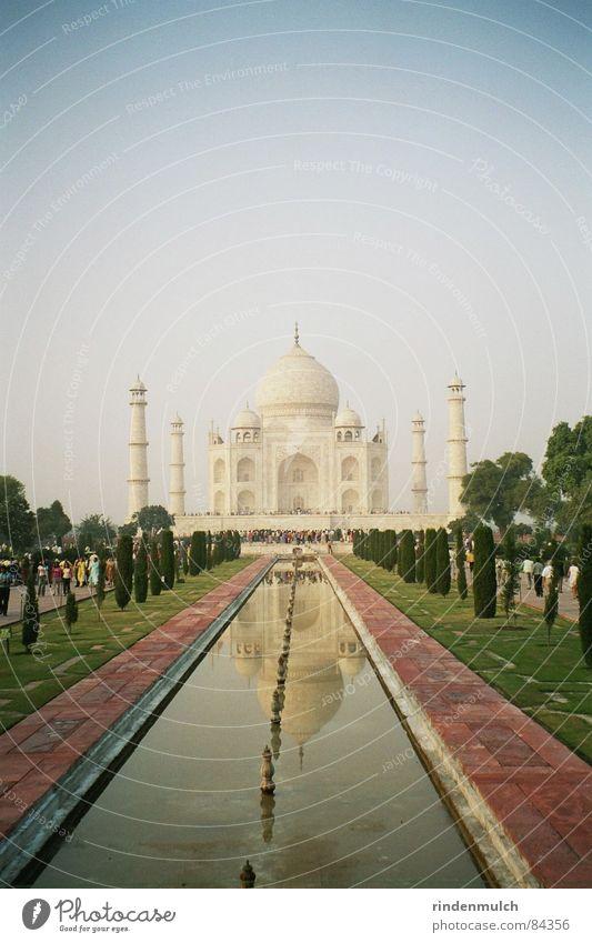 Taj Mahal Ferien & Urlaub & Reisen Asien historisch Indien Marmor