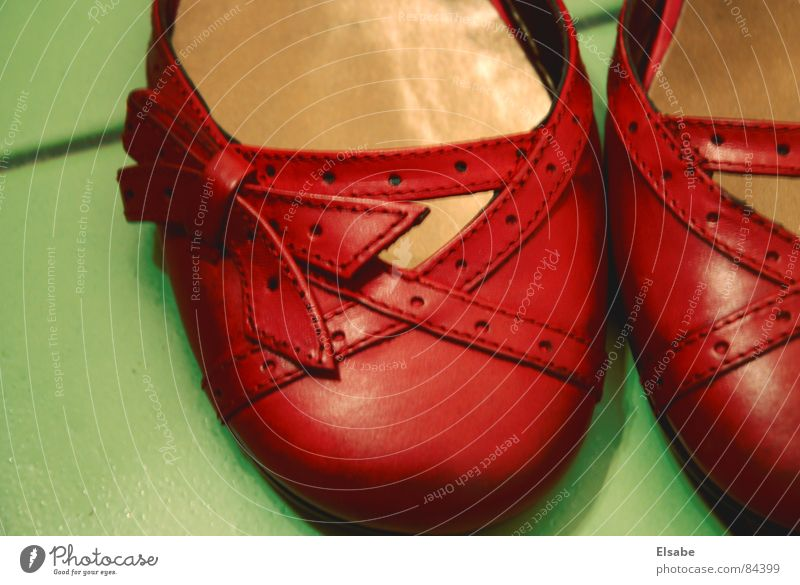 Oz-Pantoletten Frau grün schön rot feminin Mode Tanzen gehen Schuhe rosa gold Kindheit laufen ästhetisch Dekoration & Verzierung Bekleidung