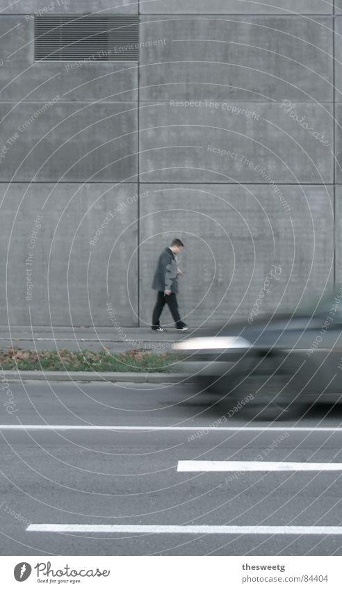 depressiv Stadt Einsamkeit Traurigkeit grau trist einzeln einfach Beton geschlossen kaputt Trauer trocken ausdruckslos Verzweiflung Langeweile gebrochen