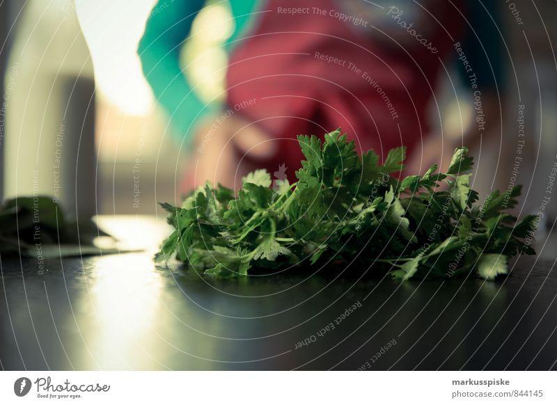 Petersilie Gemüse Salat Salatbeilage Kräuter & Gewürze Ernährung Frühstück Mittagessen Büffet Brunch Festessen Picknick Bioprodukte Vegetarische Ernährung Diät