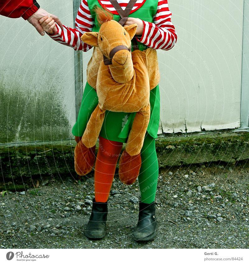 Pippilotta Viktualia Rollgardina Pfefferminza Entführung Kinderbuch Pippi Langstrumpf Hände schütteln grün Strumpfhose mehrfarbig Stiefel gestreift Hand Pferd