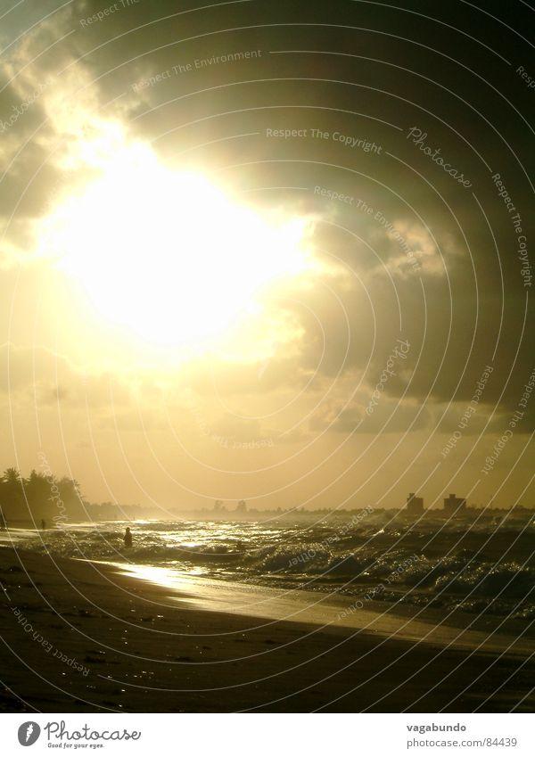 Varadero Sunset Sonnenuntergang Meer Licht Küste Abend Strand Wasser Abenddämmerung an der küste
