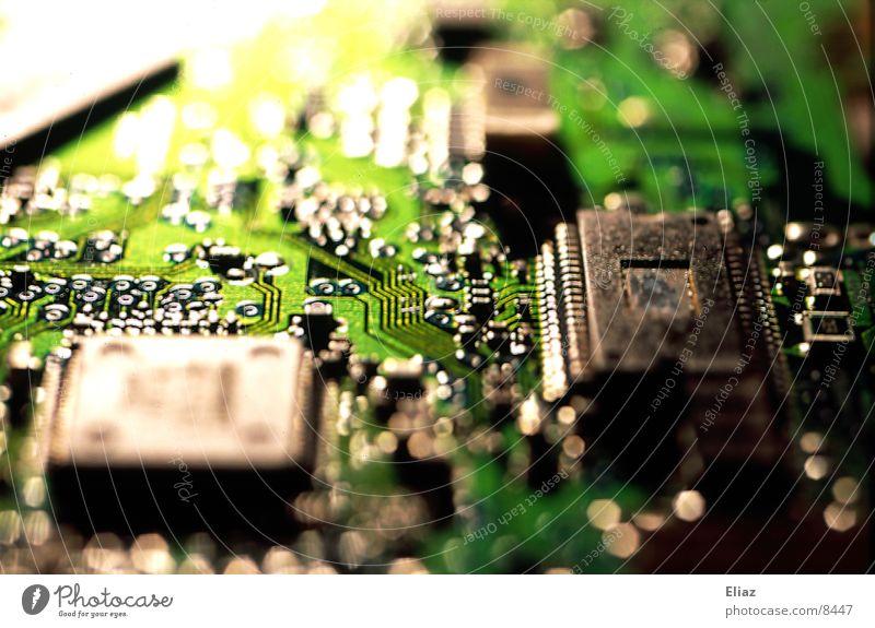 Computerchip Mikrochip Platine Elektrisches Gerät Technik & Technologie