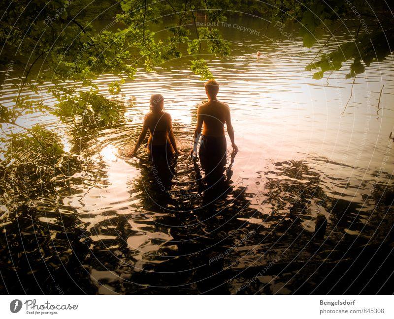 Sonnenbad Wellness Leben Erholung ruhig Freizeit & Hobby Ferien & Urlaub & Reisen Sommer Sommerurlaub Schwimmen & Baden Mensch maskulin feminin Körper Haut 2