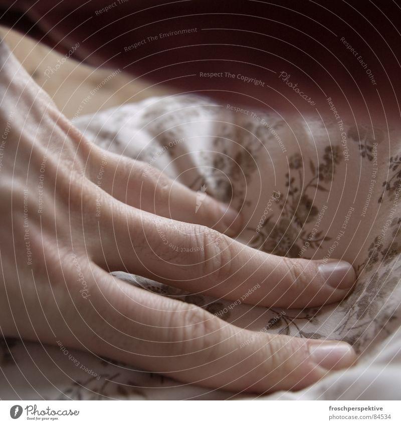 und noch mehr blümchen... Hand Blume ruhig Holz träumen Finger Seil schlafen Bett Freundlichkeit Frieden Gelassenheit sanft Lager Kissen Schlafzimmer