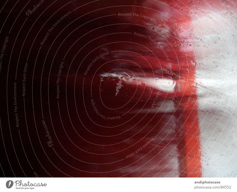 Washngo_01 Autowaschanlage Schaum rot Reinigen drehen Fenster Sauberkeit Träger Aggression bedrohlich abstrakt Borsten Drehung Wasser Autowäsche Bürste PKW